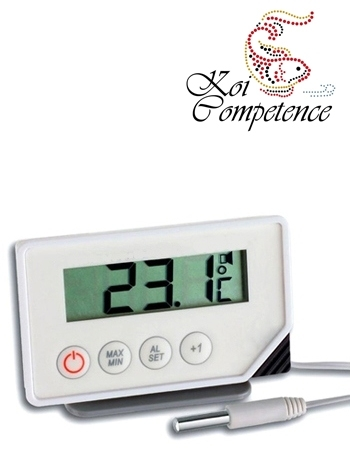 digitales kontrollthermometer mit 3 meter au enf hler was. Black Bedroom Furniture Sets. Home Design Ideas